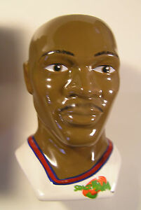 WARNER BROS. SPACE JAM MICHAEL JORDAN FIGURE CERAMIC COFFEE MUG,1996,