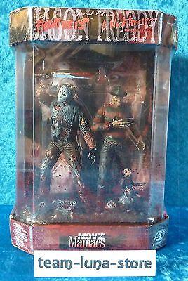 Movie Maniacs Freddy Krueger vs Jason Voorhees Fishtank Special Edition neu+ovp