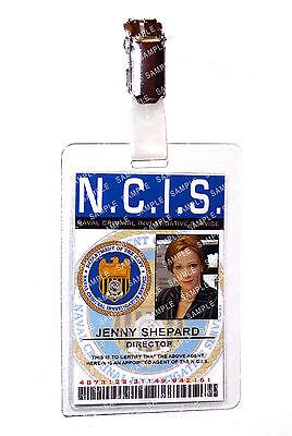 NCIS Jenny Shepard Forensic Specialist Cosplay Costume Prop Comic Con Halloween](Jenny Halloween Costume)