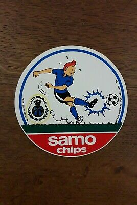 RARE autocollant Tintin Kuifje sticker Tim : LOMBARD 1979 - TTBE.
