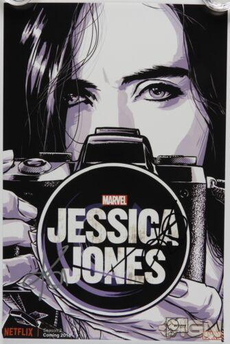 Krysten Ritter Jessica Jones Autograph JSA 12 x 18 Signed Photo Marvel