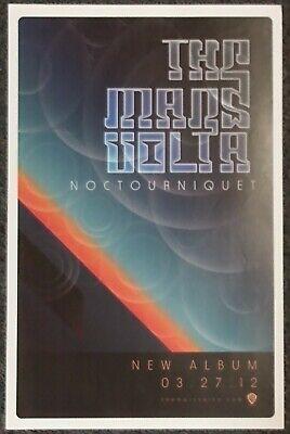 The Mars Volta Noctourniquet 2012 PROMO POSTER