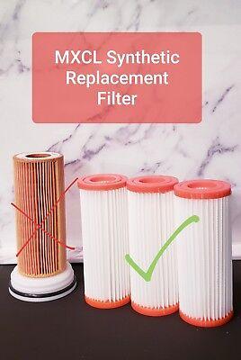 Cerec Mcxl Synthetic Filter New Generation Last 20x Longer Qty 3