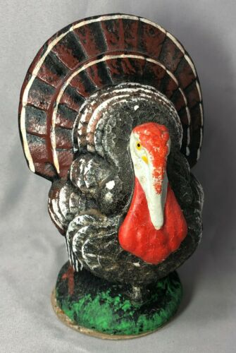 c 1950 TURKEY Thanksgiving CANDY CONTAINER US Zone GERMANY 25¢ Kresge 5 1/4-inch