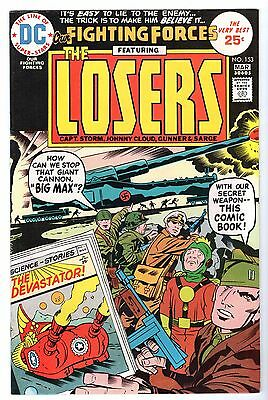 Our Fighting Forces Featuring the Losers #153,  Near Mint Minus Condition'