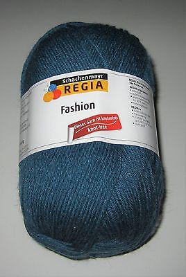 150g ball of REGIA FASHION 6ply sock knitting yarn Color #02764 TEAL