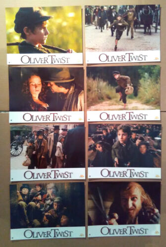 Lobby Card Set~ OLIVER TWIST ~2005 ~Barney Clark ~Harry Eden ~Ben Kingsley