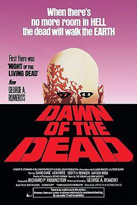 DAWN OF THE DEAD - MOVIE POSTER - 24x36 ROMERO 241365