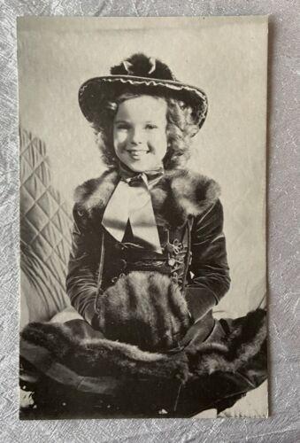 Vintage Arcade Exhibit Card - Child Actress Movie Star Shirley Temple  - $10.00