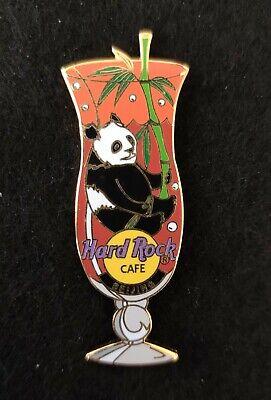 Hard Rock Cafe Pin Beijing Panda in Hurricane Glass, usado segunda mano  Embacar hacia Mexico