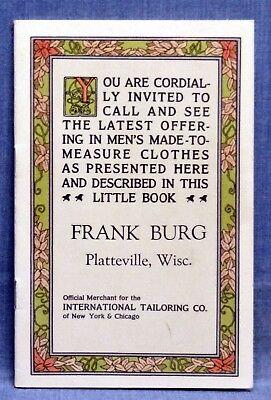 1920's Men's Clothing - Frank Burg Co.   (4729) - Men's 1920s Clothing