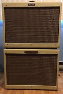 Fender blues deluxe + fender hot rod 112 amplifier