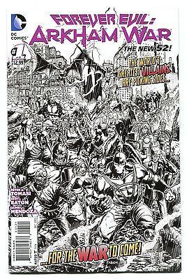 FOREVER EVIL ARKHAM WAR 1 1:25 SKETCH VARIANT NM BANE HARLEY QUINN JOKER BATMAN (Evil Harley Quinn)