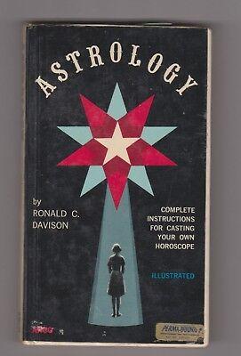 Astrology Ronald C Davison Casting Your Own Horoscope 1975 Perma-Bound Halloween](Halloween Horoscope)