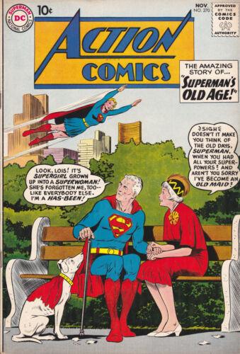 ACTION COMICS #270 SUPERMAN (VG) NOV.1960 SILVER AGE (DC)