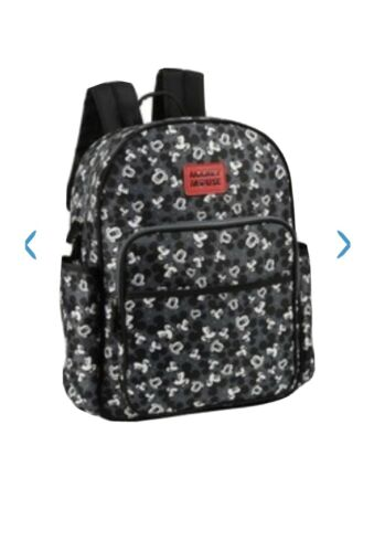 Disney Mickey Mouse Toss Head Print Backpack Diaper Bag, 3 P