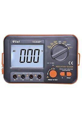 Vici Vc60b Digital Insulation Resistance Tester Megger Megohmmeter Meter