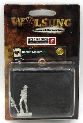 Wolsung W00001 Harriet Kinsley (Mercenary) Female Adventurer Micro Art Studio