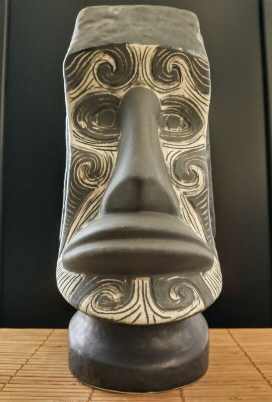 2011 Munktiki Moai Grande Maori tattoo tiki mug