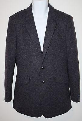 EZIO Italy Purple Tweed Wool LS Blazer Jacket 105 NEW Lanificio - Ezio Suit