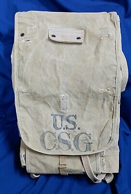 *CHOICE WWI U.S. ARMY M1910 KNAPSACK, BACK PACK, HAVERSACK - WELL MARKED - 1918*