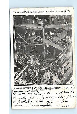 John G Myers Company Department Store Disaster 39 N Pearl Street Albany NY C26](Party Store Albany Ny)