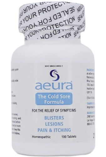 AEURA -The Cold Sore Formula-Relief For Herpes Symptoms-Safe & Effective...