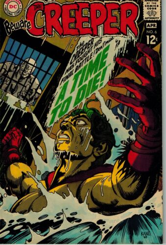 Beware The Creeper #6  March-April 1969