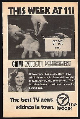 1980 Tv Ad Robyn Carter Whio News In Dayton Ohio Crime Without Punishment Report