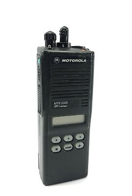 Motorola Flashport Mts 2000 Two Way Radio Handie Talkie