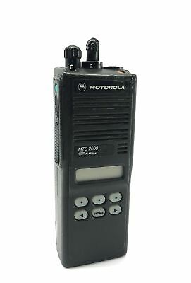 Motorola Flashport Mts 2000 Two Way Radio Handie Talkie