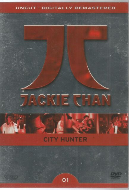 DVD - Jackie Chan - 01 - City Hunter - Limited Collector`s Edition / #1759