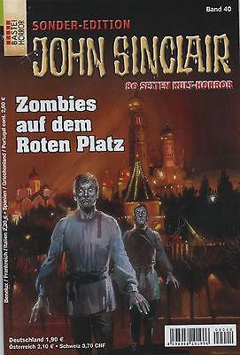 JOHN SINCLAIR SONDEREDITION Nr. 40 - Zombies auf dem Roten Platz - Jason Dark