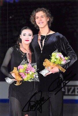 Alla LOBODA / Pavel DROZD - RUS - Eiskunstlauf - Foto signiert (3)