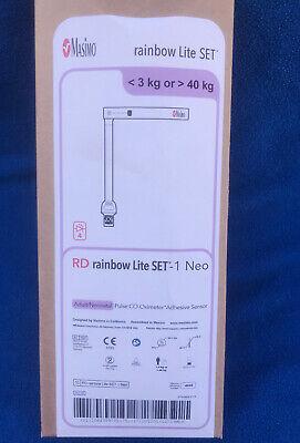 Box Of 10 Masimo Rd Rainbow Lite Set-1 Neo Pulse Co-oximeter Sensor - Model 4045