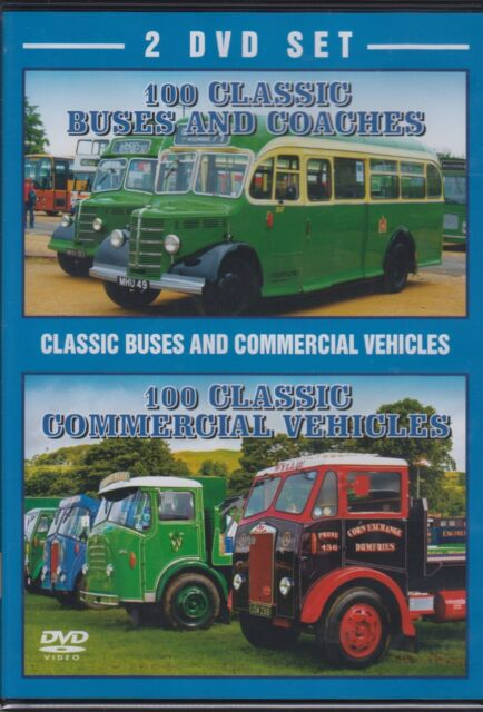 100 Classic Buses And 100 Commercial Vehicles 2 DVD Set [DVD]