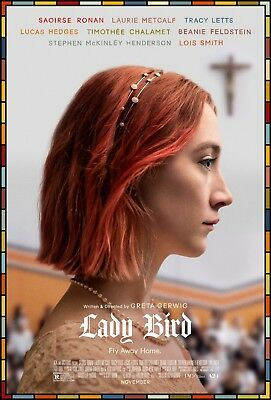 Lady Bird Movie Poster (24x36) - Saoirse Ronan, Laurie Metcalf, Tracy Letts v1 - Lady Movie Poster