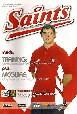 St Helens v Wakefield - Super League 2005 (August)