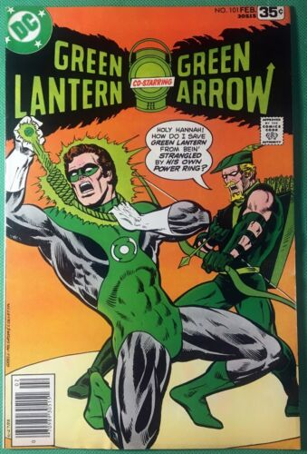 Green Lantern (1960) #101 VG (4.0) w/Green Arrow