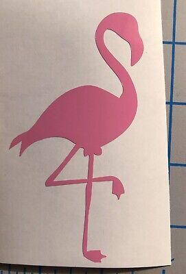 Super Cute|Flamingo|Summer|Bird|Tropical|Magical|Art|Vinyl|Decal|You Pick (Flamingos Color)