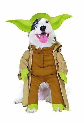 Yoda Puppy Costume (RUBIES STAR WARS YODA DARTH VADER DOG HALLOWEEN PUPPY ANIMAL COSTUME)