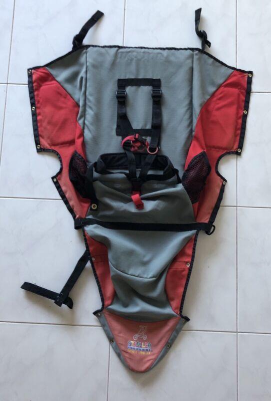 BOB Stroller Strides - Single Jogger Stroller FABRIC SEAT Cloth - Red Gray