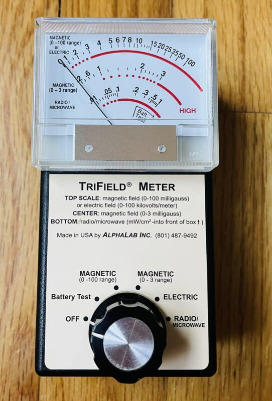 TriField EMF Meter  Magnetic-Electric-Radio/Microwave