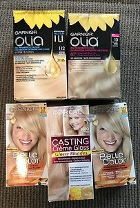 5 Boxes Hair Dye New Unopened