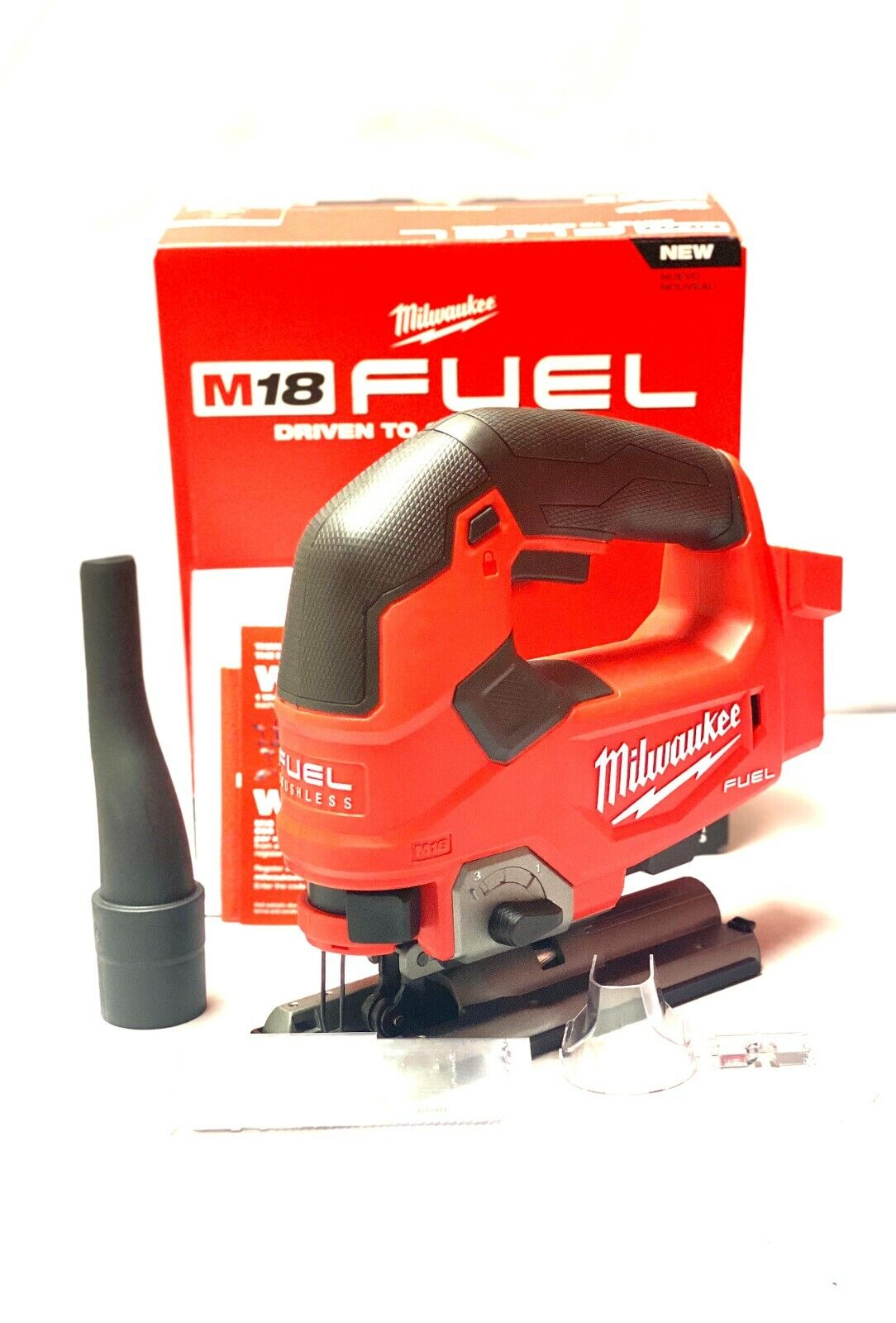 Milwaukee FUEL M18 2737-20 18-Volt Cordless D-Handle Jig Saw