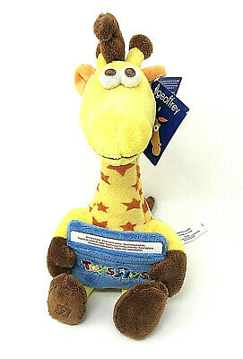 Gift Card Holder Plush Geoffrey Giraffe Toys R Us Collectable Back to School