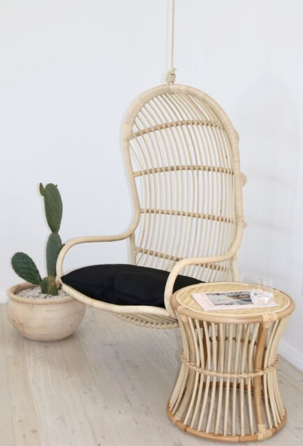 Sunday Hanging Chair 47 Egg Chair Natural Rattan Armchairs Gumtree Australia Wyong Area Bateau Bay 1232286863