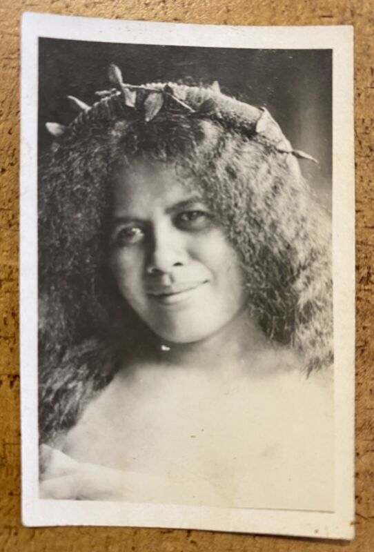 Hawaii—Vintage Hula Girl Photo