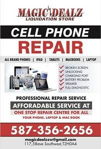 Iphone6 scrn repair $50 N Ipad Mini 1&2 Glass $55 with warranty
