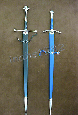 LORT Anduril Sword of Aragorn + LOTR Glamdring Sword of Gandalf